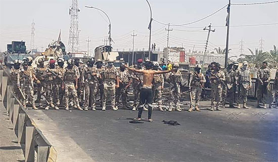 اللجنة المحلية للحزب الشيوعي العراقي في محافظة البصرة: لا للبطش بالمتظاهرين وقتلهم
