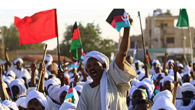 2cb50bc11 الشيوعي السوداني يدعو الى قطع الطريق على الانقلاب العسكري والمعارضة تتجه  نحو الإضراب العام في البلاد