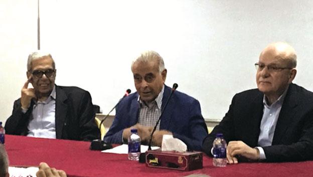 وفد من الجبهة الديمقراطية لتحرير فلسطين في ضيافة الحزب الشيوعي العراقي