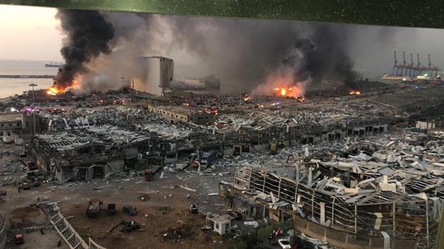 رائد فهمي يعبرّ عن تضامن الشيوعيين العراقيين مع الشعب اللبناني بعد انفجار بيروت الكارثي