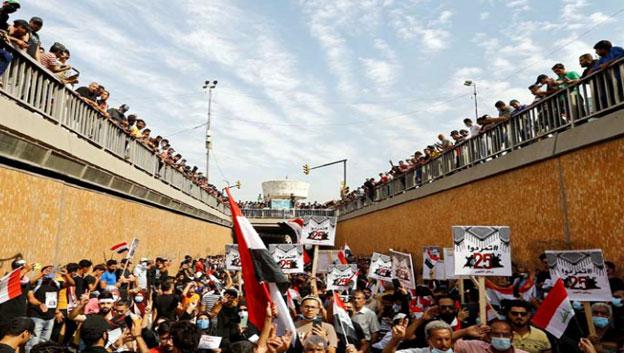 المحرر السياسي لطريق الشعب: انتفاضة تشرين تبقى حية